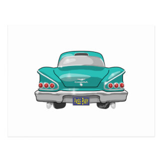 1958 Impala Pass Envy Postcard
