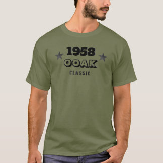 1958 OOAK Classic! One Of A Kind 60th Birthday T-Shirt