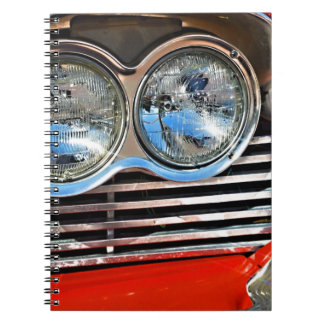 1958 Plymouth Fury Spiral Notebook