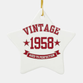 1958 Vintage Aged to Perfection Ornament