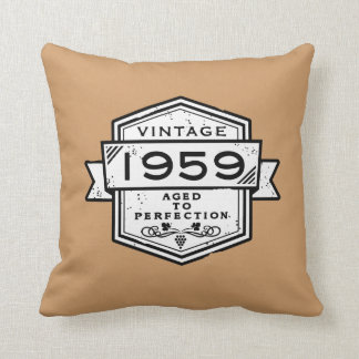 1959 Aged To Perfection Cushion