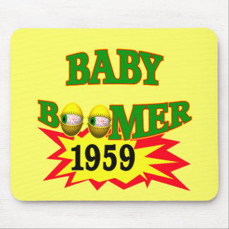 1959 Baby Boomer Mouse Pads