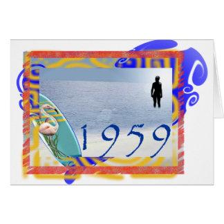 1959 beach card