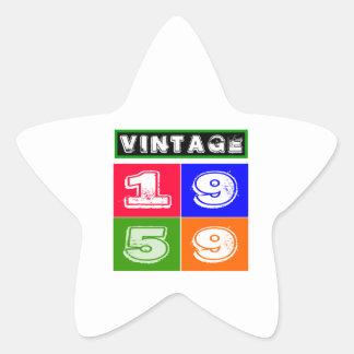 1959 Birthday Designs Sticker