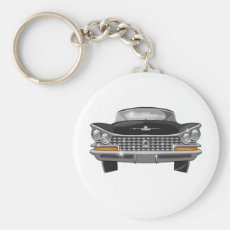 1959 Buick Electra Basic Round Button Key Ring