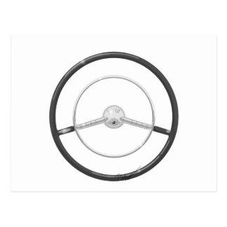 1959 Buick Steering Wheel Postcard