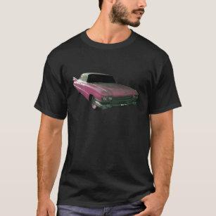 1959 Caddilac Big Pink Fins T-Shirt