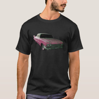 1959 Caddilac Big Pink Fins T-Shirt