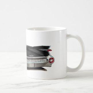 1959 Cadillac Black Car Coffee Mug