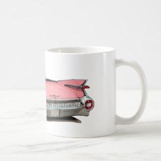1959 Cadillac Pink Car Coffee Mug