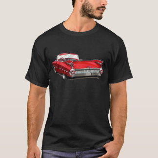 1959 Cadillac Red Car T-Shirt