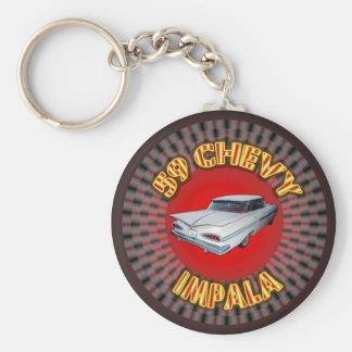 1959 Chevy Impala Keychain. Key Ring