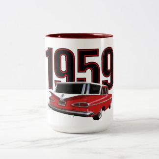 1959 Chevy Station Wagon Two-Tone Mug