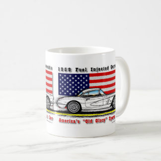 1959 Fuel Injected Corvette Coffee Mug