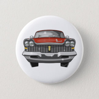1959 Plymouth Fury 6 Cm Round Badge