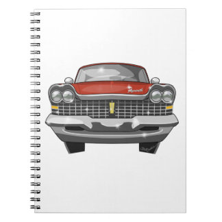1959 Plymouth Fury Notebook