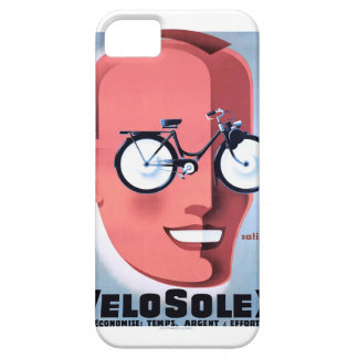 1959 Solex Powered Bicycle Advertising Poster Case For The iPhone 5