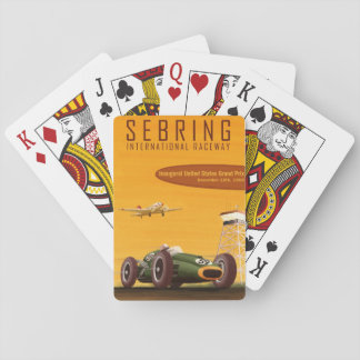 1959 United States Grand Prix Playing Cards