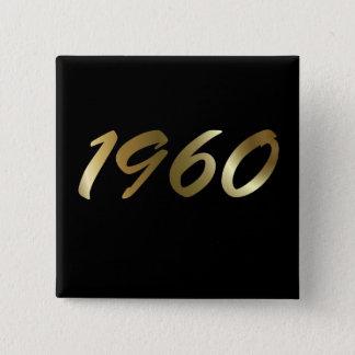 1960 15 CM SQUARE BADGE