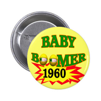 1960 Baby Boomer Pin