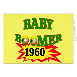 1960 Baby Boomer Greeting Card