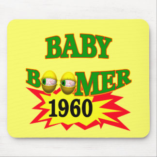 1960 Baby Boomer Mouse Pads