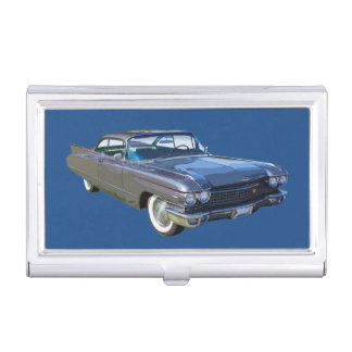 1960 Cadillac Antique Luxury Car Business Card Holder