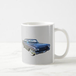 1960 Cadillac Luxury Car Basic White Mug
