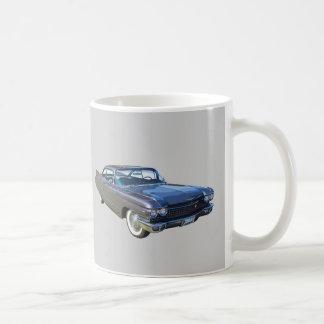 1960 Cadillac Luxury Car Basic White Mug