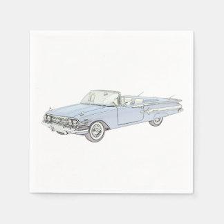1960 Chevy Impala Disposable Napkin