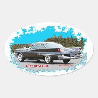 1960_Chrysler_300 Oval Sticker
