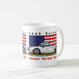 1960 Corvette Coffee Mug