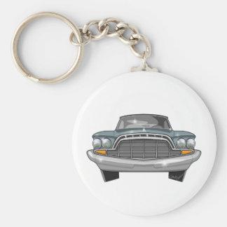 1960 DeSoto Adventurer Basic Round Button Key Ring