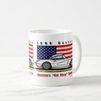 1960 Fuel Injected Corvette Coffee Mug