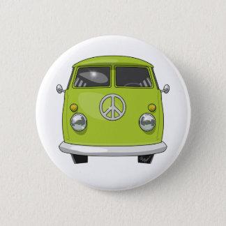 1960 Hippie Van 6 Cm Round Badge