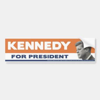 1960 John F. Kennedy For President Bumper Sticker