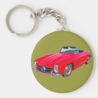 1960 Mercedes Benz 300 SL Convertible Key Ring