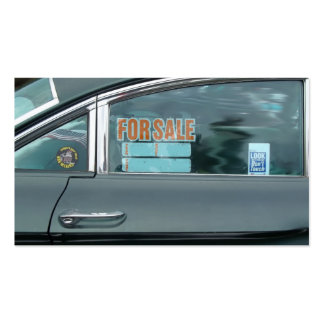 1960 Oldsmobile Dynamic 88 side view for sale sign Pack Of Standard Business Cards