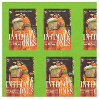 1960 pulp novel cover The Intimate Ones print Fabric