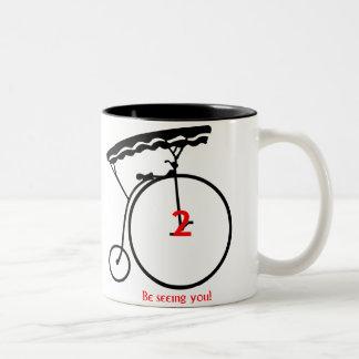 1960 s The Prisoner- Number 2 Be seeing you Mug