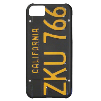 1960's CA License Plate iPhone Case iPhone 5C Case