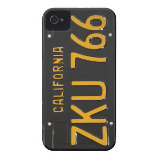 1960's CA License Plate iPhone Case iPhone 4 Case