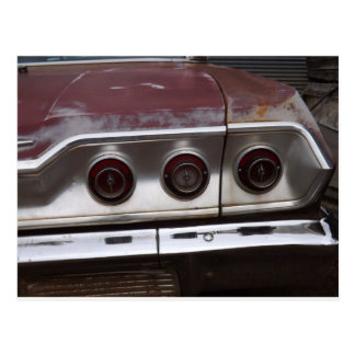 1960s Chevrolet Impala Tail Lights Post Cards