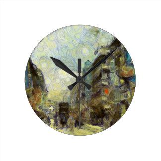 1960s Hong Kong Round Clock