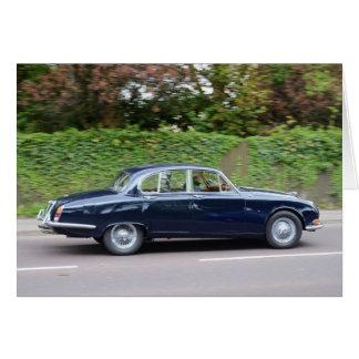 1960s Jaguar S Type Card