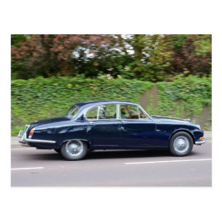 1960s Jaguar S Type Postcard