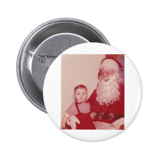 1960's Little Boy and Santa Buttons