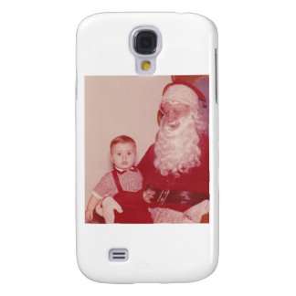 1960's Little Boy and Santa Galaxy S4 Cover