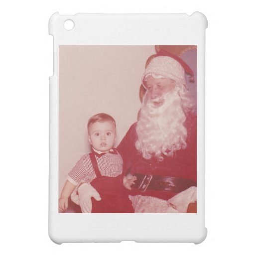 1960's Little Boy and Santa Cover For The iPad Mini