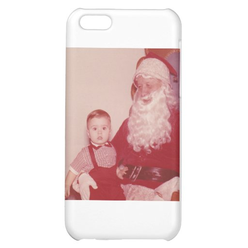 1960's Little Boy and Santa Case For iPhone 5C